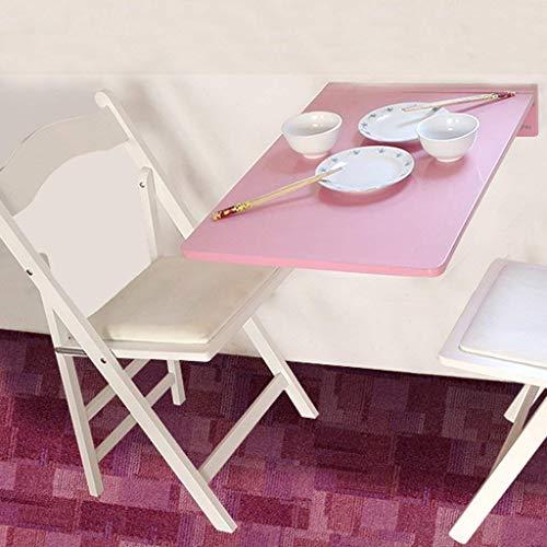 Mesa plegable ESCRITORIO Mesa de mesa escritorio mesa de computadora mesa plegable mesa de comedor de pared plegable, mesas plegables de madera maciza pared pared de madera rectangular mesas de cerca