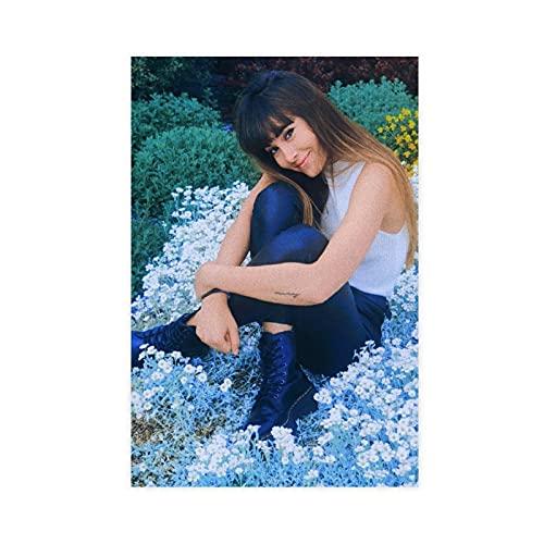 Póster de cantante Aitana Ocana 12 lienzos para decoración de pared, para sala de estar, dormitorio, decoración de 30 x 45 cm. Unframe: