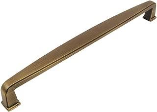 10 Pack - Cosmas 4392-192BAB Brushed Antique Brass Modern Cabinet Hardware Handle Pull - 7-1/2