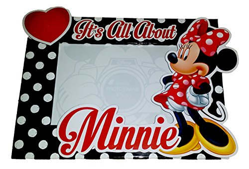 DISNEY MINNIE MOUSE IT'S ALL ABOUT MINNIE 4 X 6 FLORIDA PHOTO FRAME