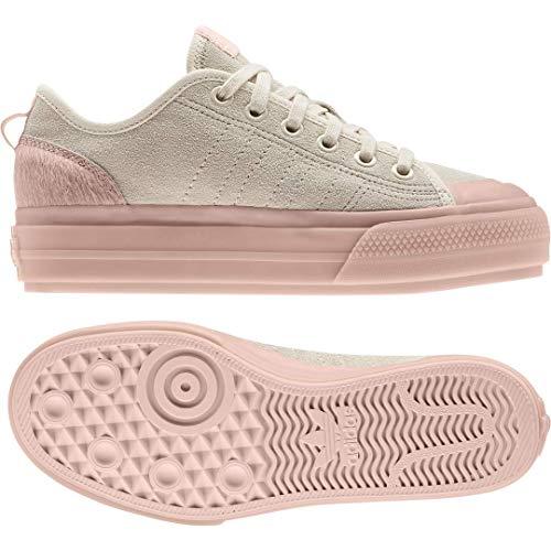 adidas Originals Womens Nizza Rf Platform Sneakers Shoes Casual - Beige - Size 6.5 B