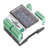Módulo de distribución de energía de protección contra sobretensión de montaje en riel DIN Relé de monitoreo de voltaje de CA para industrial trifásico de cuatro cables