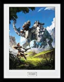 gb eye, horizon zero dawn, key art, foto incorniciata 40 x 30 cm