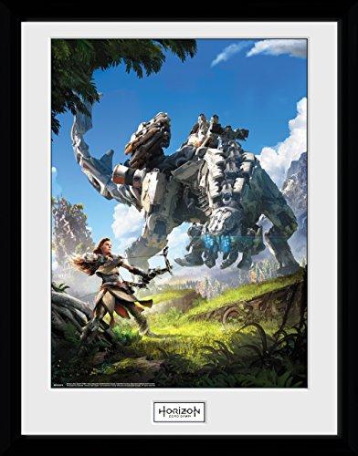 GB eye, Horizon Zero Dawn, Key Art, Print Enmarcado 40 x 30 cm