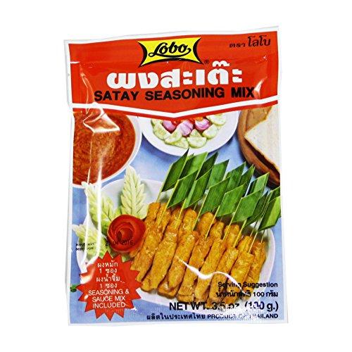 Lobo Satay mezcla de condimentos 100g