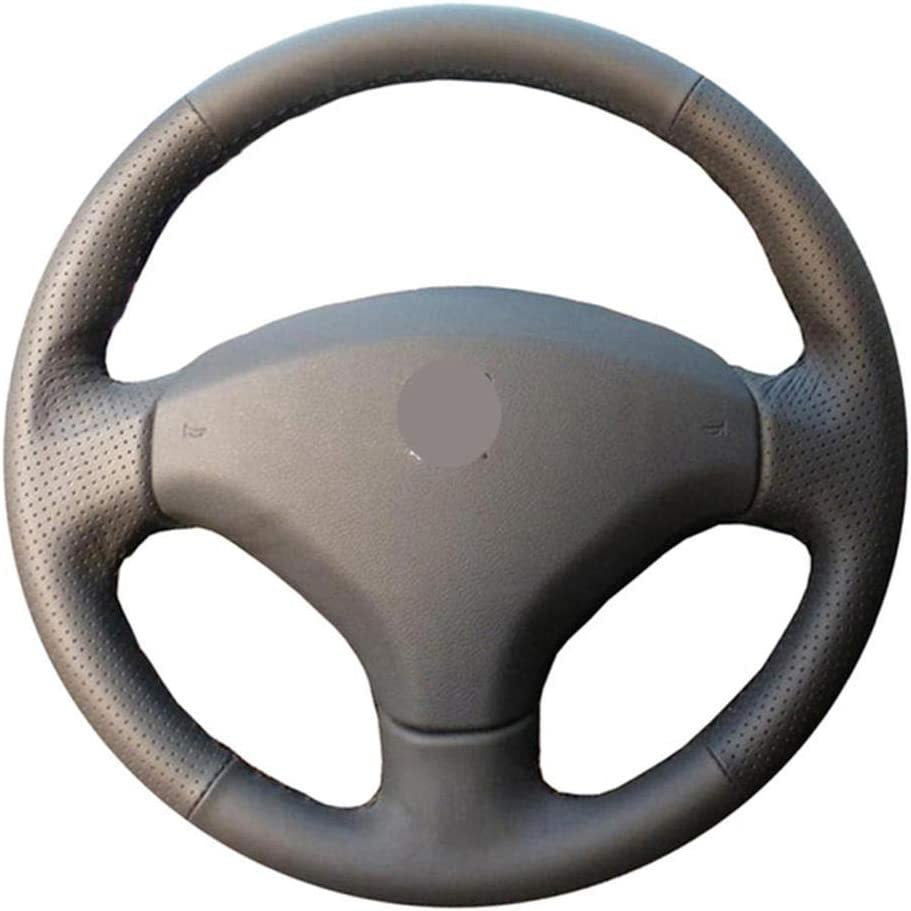 Max 44% OFF Hand Stitched Opening large release sale Leather Car Ca Steering Wheel Cover