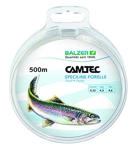 CAMTEC SPEZILINE Forelle Zielfischschnur 0,22mm 500m