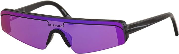 Occhiali da sole balenciaga bb0003s // 003 black black violet BB0003S 003 99