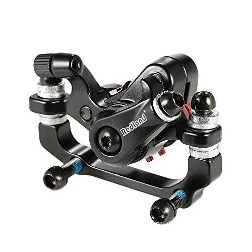 Docooler Aluminium-Legierung Fahrrad Bremse Outdoor Radfahren MTB Mountainbike hinten Scheibenbremse Mechanischer Bremssattel