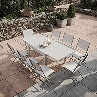 Amazon.fr : table extensible verre : Jardin