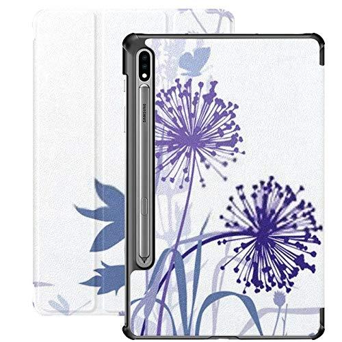 Funda para Galaxy Tab S7 Funda Delgada y Ligera con Soporte para Tableta Samsung Galaxy Tab S7 de 11 Pulgadas Sm-t870 Sm-t875 Sm-t878 2020 Release, Dandelions Lily