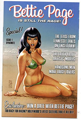 BETTIE PAGE #1 C, VF/NM, Linsner, 2020 V3, Betty, more in store