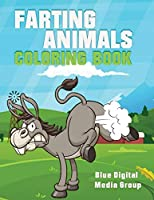Farting Animal Coloring Book: Farting Animal Book