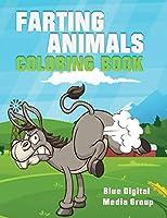 Farting Animal Coloring Book: Farting Animal Book