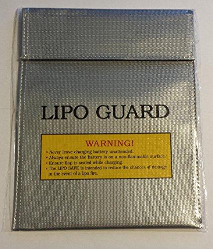 MR-Onlinehandel ® LiPo Lade Tasche 18cmx22cm 180mmx220mm Safe Guard / Bag LiPo Akku