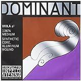 Thomastik Cuerda para Viola 3/4 Dominant - cuerda La núcleo en nylon entorchado aluminio,...