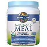 Garden of Life Meal Replacement Vanilla Powder, 14 Servings, Organic Raw Plant Based Protein Powder,...