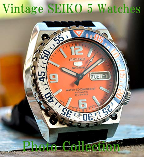 SEIKO 5 Vintage Antique Japanise Watches Photo Collection (English Edition)