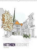 HATTINGEN GEZEICHNET (Wandkalender 2022 DIN A3 hoch): Ein Kalender mit Zeichnungen der Sehenswuerdigkeiten Hattingens (Monatskalender, 14 Seiten )