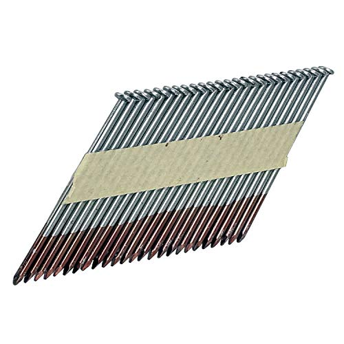"""Freeman FR.131-34-314B 34 Degree .131"""" x 3-1/4"""" Paper Collated Brite Finish Smooth Shank Clipped Head Framing Nails (2000 count)"""