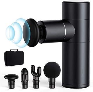 マッサージガン 人気 プレゼン 振動調整可能,静音 軽量 便利 USB式充電 長時間使用 12ヶ月品質保証 筋膜リリース ランキング マッサージガンミニ ミニマッサージ器 電動マッサージ器