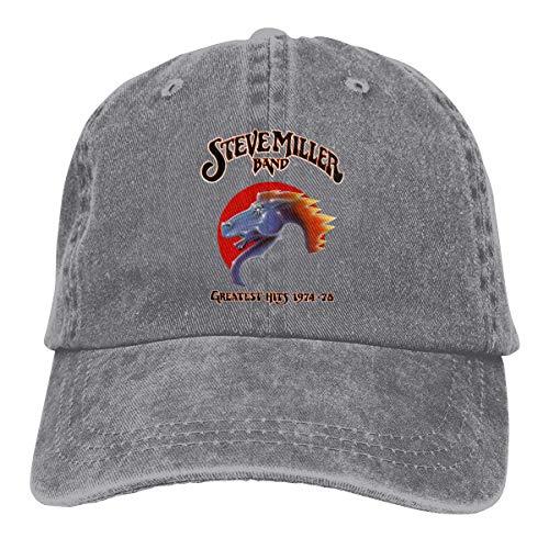 Basecap Snapback Outdoor Baseball Kappe Jeans Hat Steve Miller Band Lightweight Breathable Soft Baseball Cap Sports Cap Adult Trucker Hat Mesh Cap