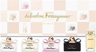 Salvatore Ferragamo Signorina for Women Eau de Parfum 5ml + Eleganza Eau de Parfum 5ml + In Fiore Eau de Toilette 5ml + Mi...