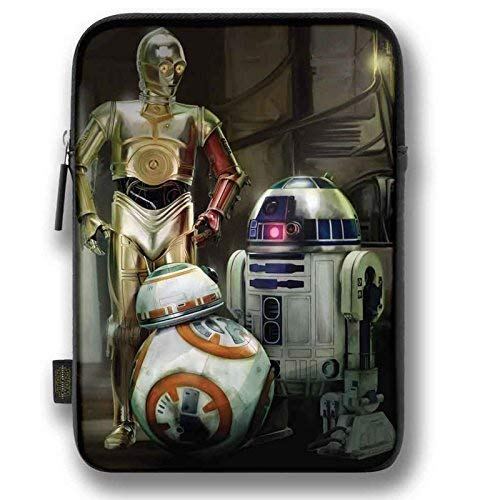 Disney Star Wars The Force Awakens Droids Apple Ipad Mini 8' Inch Tablet Zip Case Wallet Cover Bag Sleeve Pouch