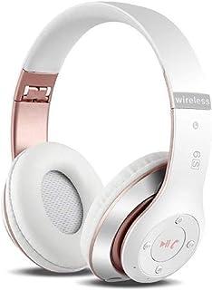 comprar comparacion Auriculares Cerrados Inalámbricos 6S, Alta fidelidad Estéreo Auriculares Estéreo Inalámbricos Plegables, Micrófono Incorpo...