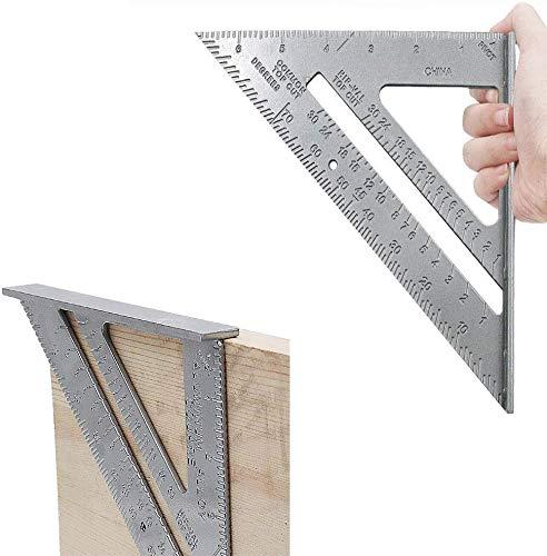 Multi-angle Measuring Ruler//Guide Outil Universel Alliage d/'Aluminium
