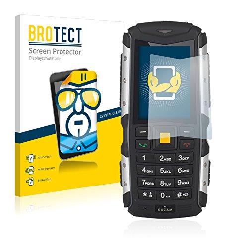 BROTECT Schutzfolie kompatibel mit Kazam Life R5 (2 Stück) klare Bildschirmschutz-Folie