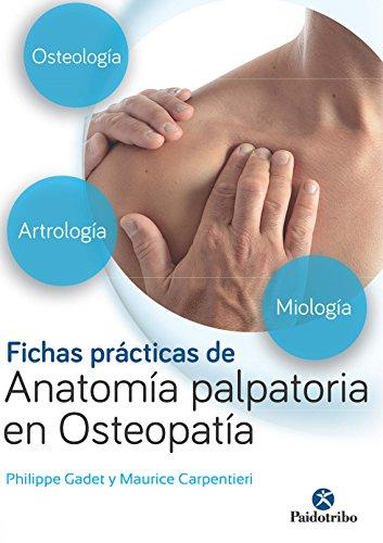 Fichas prácticas de anatomía palpatoria en osteopatía (Color) (Medicina nº 1) (Spanish Edition)
