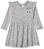 Spotted Zebra Cozy Knit Dress, Heather Gray, L