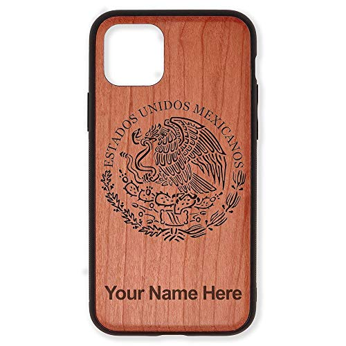 Case Compatible with iPhone 11, Flag of Mexico, Personalized Engraving...