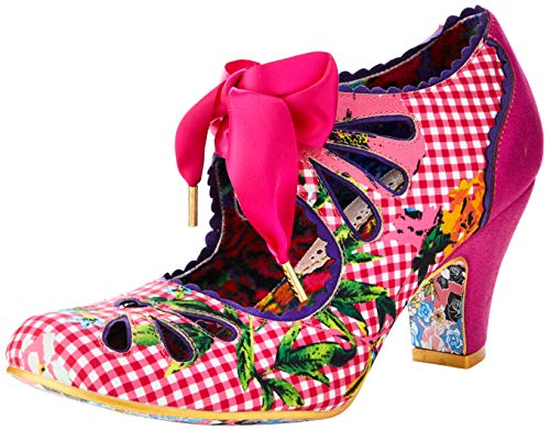 Irregular Choice Damen Sugar Plum Pumps, Pink (Pink Multi Light), 37 EU