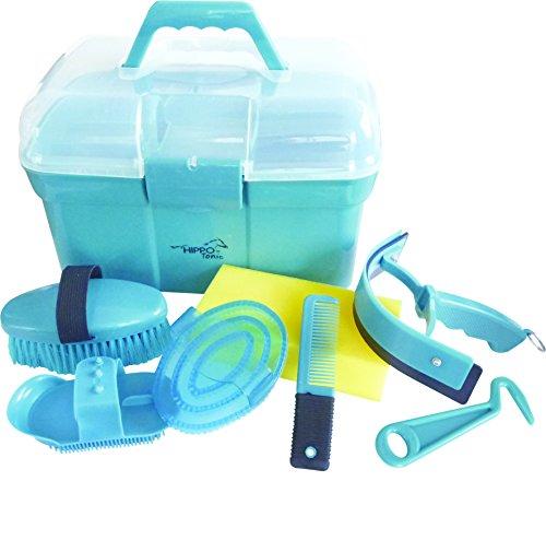 Hippo-Tonic Kinder-Putzbox, gefüllt Türkis