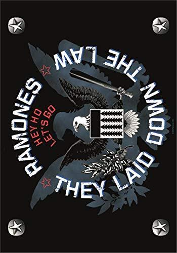 Ramones - Eagle Flagge