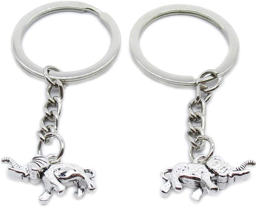 100 We OFFer at cheap prices Pieces Keyring Keychain Wholesale N Jewelry Suppliers Manufacturer regenerated product Clasps