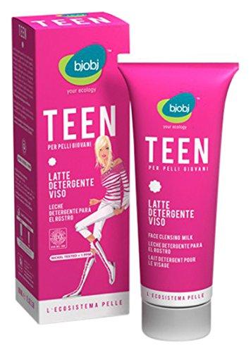 Bjobj Lait Nettoyant Visage Teen, 100 grammes