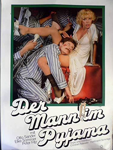Der Mann im Pyjama - Elke Sommer - Otto Sander - Filmposter A1 84x60cm gerollt