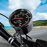 VGEBY1 Odometer, Mechanical Bicycle Speedometer Aluminum Alloy Bike Computer Cyclocomputer
