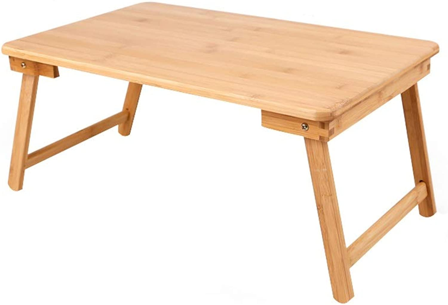 Solid Wood Foldable Computer Desk, Portable Mobile Lazy Student Desk, Available in Four Sizes (Size   54x34cm)