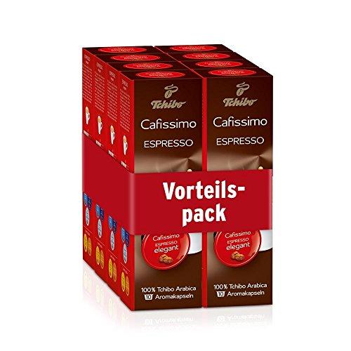 Tchibo Cafissimo Kaffee Espresso elegant 80 Kapseln
