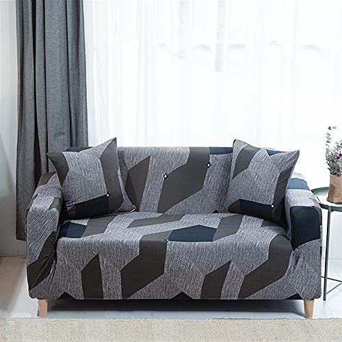 LIWENFU Cubierta de sofá para Sala de Estar Todo Incluido Elástico Stretch SOFE SlightCover Decoración del hogar 1/2/3/4 Seaver Sofá Cubiertas (Color : C27, Specification : 45X45cm pillowcaseX2)