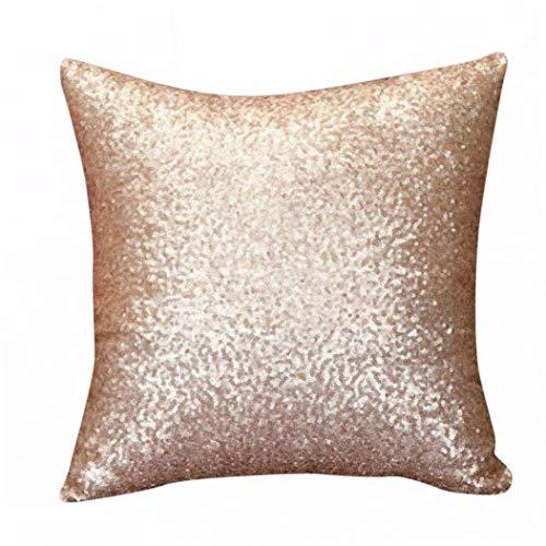 Ode_Joy Tinta Unita Paillettes Glitterati Throw Pillow Case