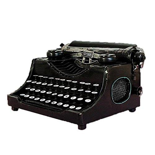 Antike Metallkunst Dekoration Retro Schreibmaschine Modell SchießEn Filmrequisiten (Handwerk Funktionieren Nicht)