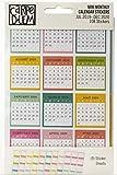 PUKKA PADS USA (CARPE DIEM) Calendario Carpe STKRS fechado MNTH, mensual, julio de 2019 a diciembre de 2020, talla única