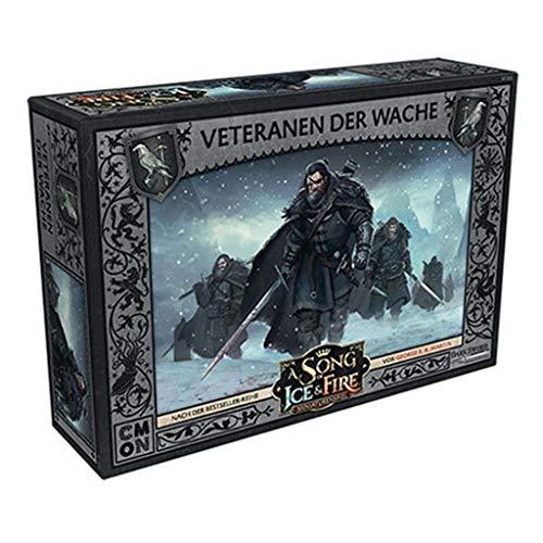 Asmodee A Song of Ice & Fire Veteranen Der Wache Expansion - Tabletop (en alemán)