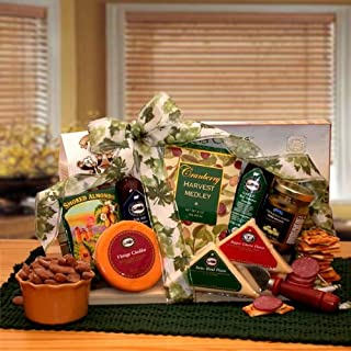 Tastes of Distinction - Meat and Cheese Gift for Fathers Day, Birthdays and Holidays
