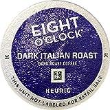Keurig, Eight O'Clock Coffee, Dark Italian Roast, K-Cup packs, 24 Count